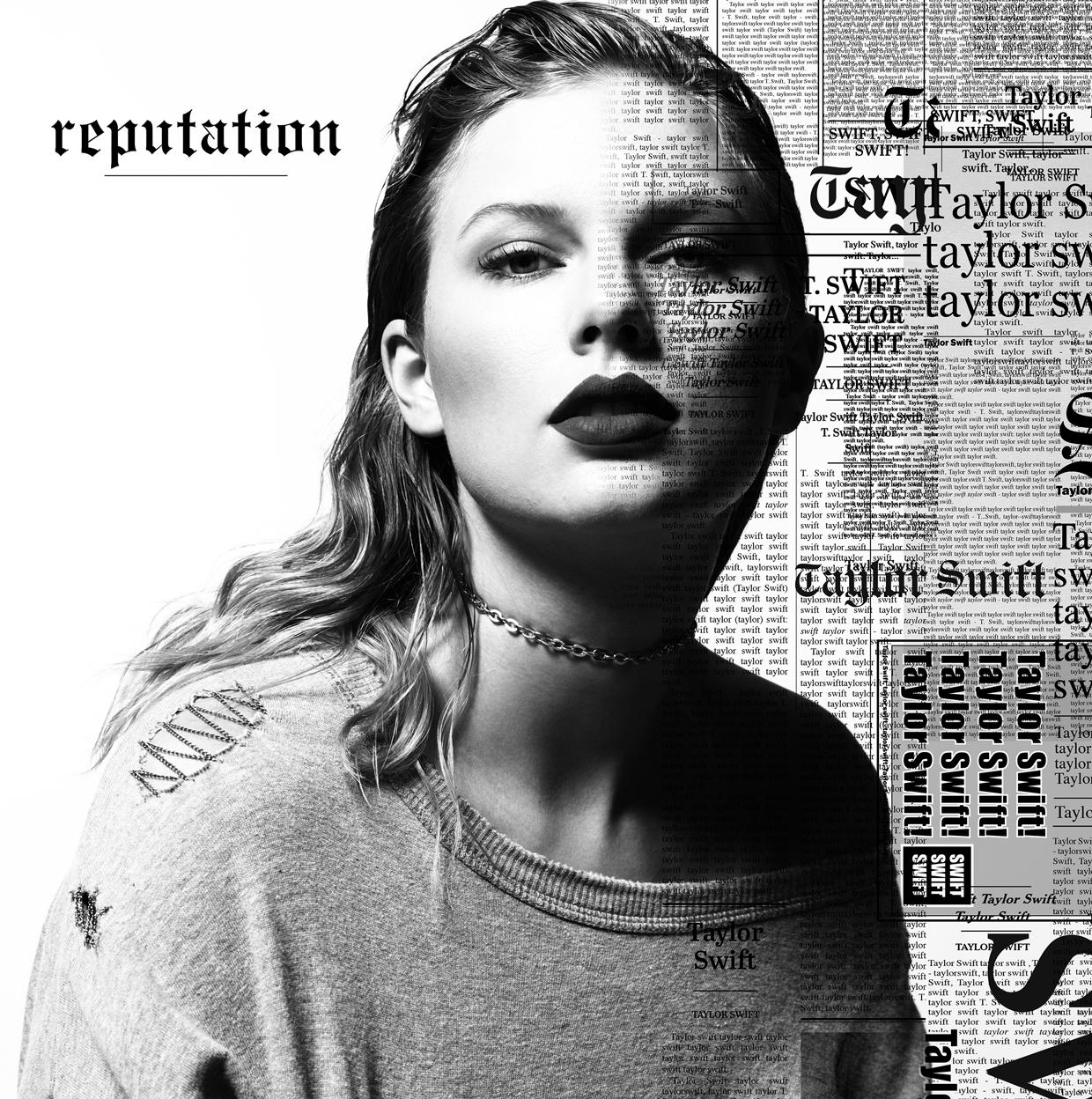 Taylor Swift Reputation Album Art